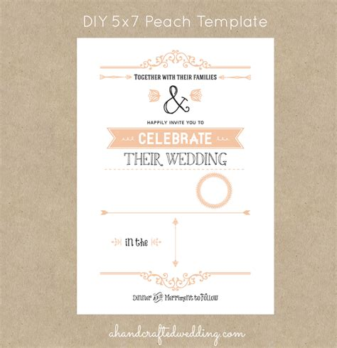 5x7 invitation templates ins ssrenterprises co