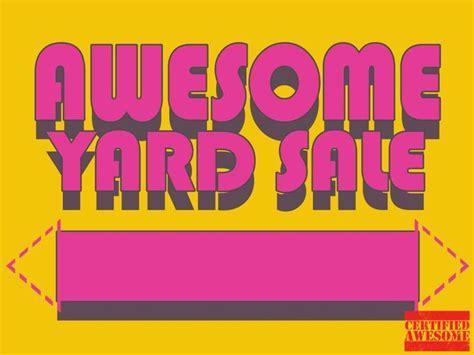 17 best yard sale signs images on pinterest yard sales garage