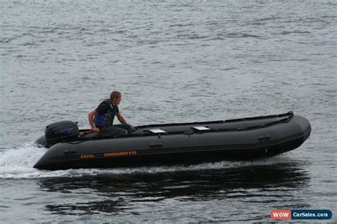 excel inflatable boats for sale excel vanguard xhd535 inflatable boat commercial workboat