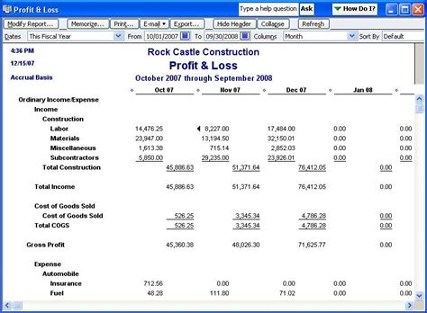 loss run report sle qodbc desktop how to run a profit and loss standard