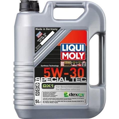 liqui moly special tec dx  dexos gen opel motor