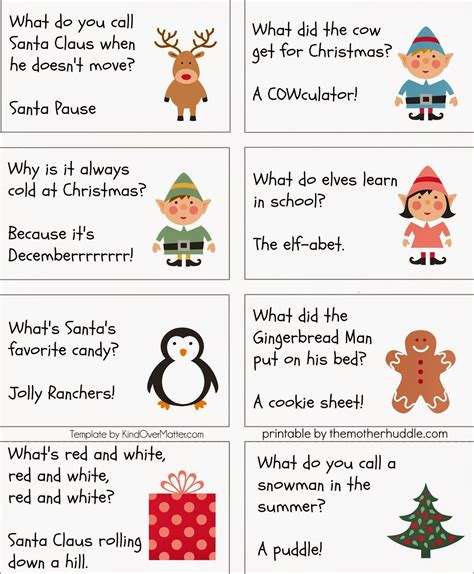 printable christmas joke cards english zubi zaharra some xmas jokes