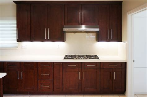 litchen cabinets mahogany shaker ready to assemble kitchen cabinets the