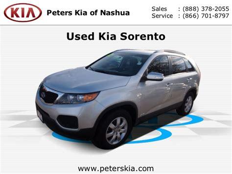 Peters Kia Of Nashua by Used Kia Sorento Peters Kia Of New Hshire Serving