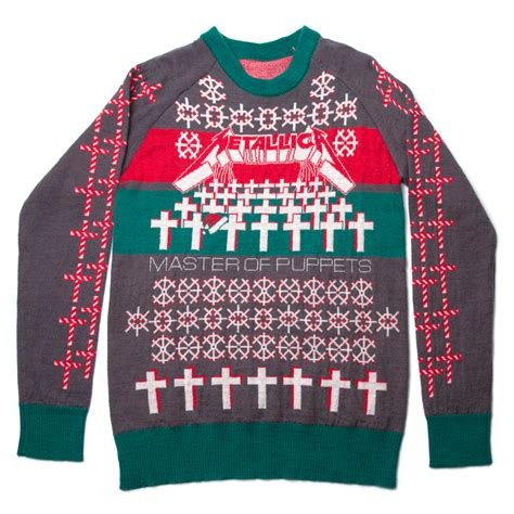 metallica xmas jumper 2017 master of puppets holiday sweater metallica