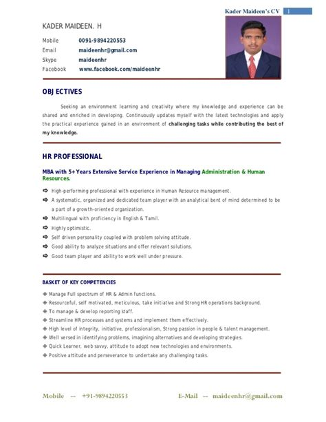 Mba In Retail Management Quora by Sle Mba Resume Mba Sle Resumes Resume Format