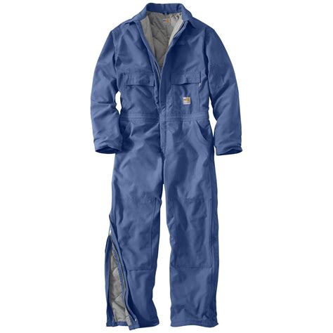 Carhartt Quilt Lined Duck Coveralls by Carhartt Resistant Heavyweight Quilt Lined Duck