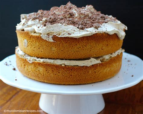 Torta de Café (Coffee Flavored Cake)   My Colombian Recipes