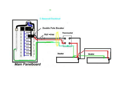 thermostat for baseboard heat wiring diagram get free