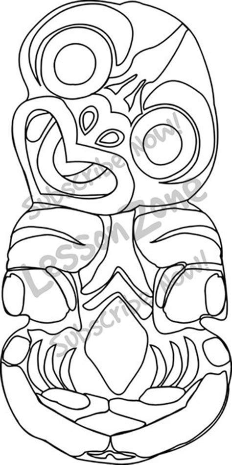 free coloring pages of tiki bar