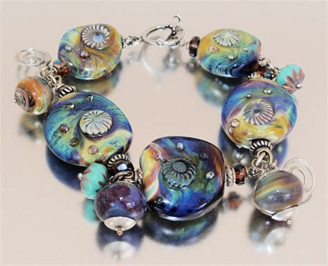 lwork glass florida bracelet my handmade glass 28 images teal with
