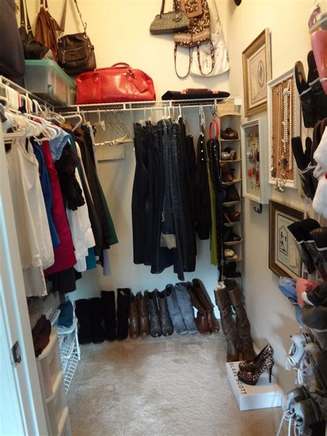 How To Organize Bags In Closet by Organize Purses Simple Organizing