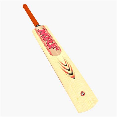 Cricket Wooden Craft 3d 3d model bat mrf wooden cricket