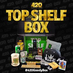 Top Shelf Services by New Subscription Service 420goodybox Aims To Light Up The