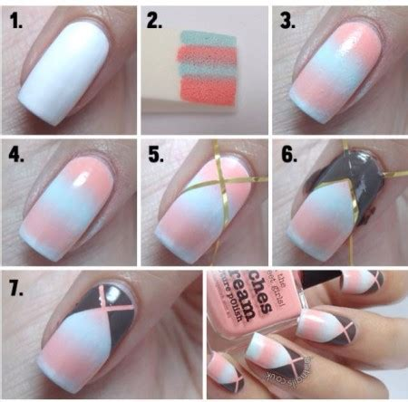 nail art tutorial for beginners at home easy nail art for beginners step by step tutorials