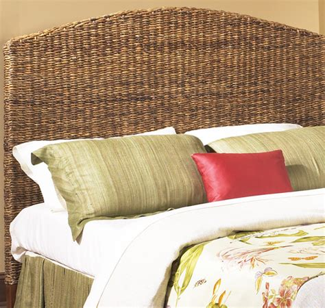 headboards full size seagrass headboard full size wicker paradise
