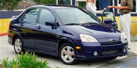 2003 Suzuki Aerio Tire Size 2003 Suzuki Aerio Tires Iseecars