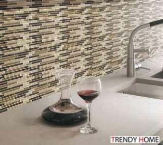neutral glass tile backsplash faux tile backsplash on popscreen