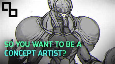 i want to be a artist so you want to be a concept artist