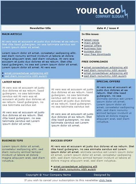 newsletter free templates newsletter template newsletteremail schoolnewsletter