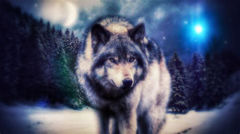 Magic Wolf Wallpapers Loading