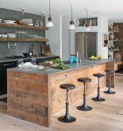 Industrial Kitchen Furniture You Can Definiltey Diy An Island And Shelves For An Industrial Kitchen