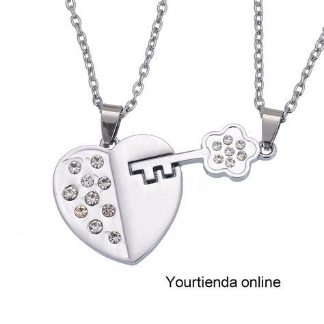 modelos de cadenas para parejas collares para pareja acero inoxidable s 50 00 en