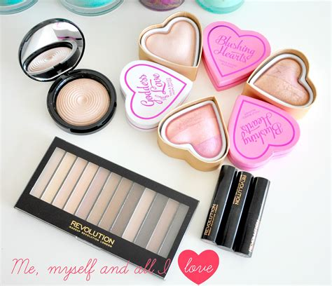 Makeup Revolution review the makeup revolution heaven me myself and all i