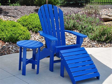 Recycled Plastic Chairs Frog Furnishings Recycled Plastic Seaside Adirondack Chair