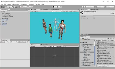 unity kinect tutorial windows exporting your vitruvius unity project for windows store