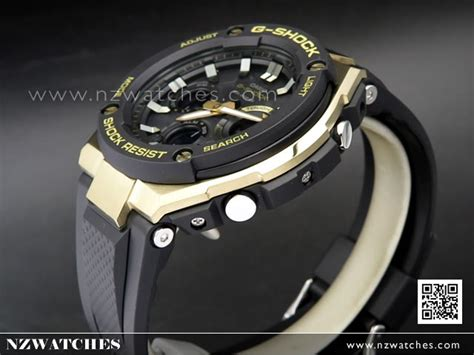 Casio Gshock Gst S100g 1adr buy casio g shock analog digital solar resin band black
