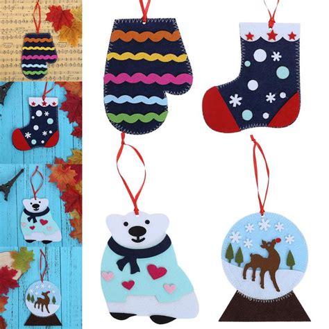 merry christmas candy gift bag kid handmade diy creative socks  year tree decor christmas