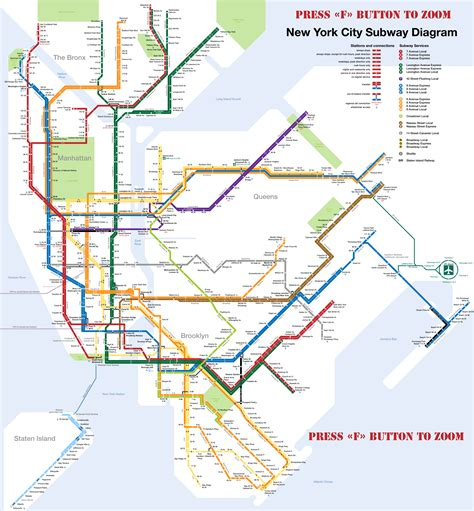 metro map nyc new york le m 233 tro