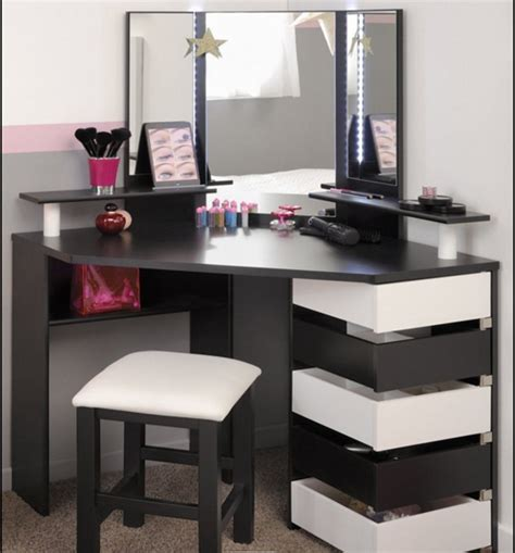 15 small corner dressing table designs with mirror cool ideas