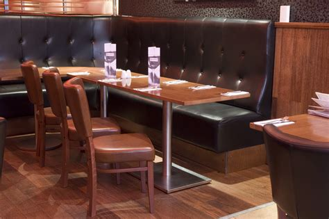 restaurant benches booths booth seating planning your restaurant design hillcross