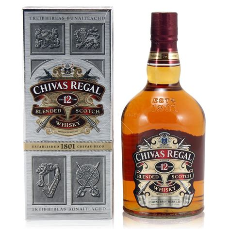 chivas regal 12 chivas regal scotch 12 yo 1 0l 40 vol chivas whisky