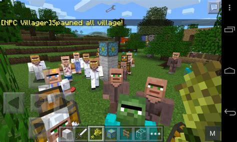 mods for minecraft pe villagers mod minecraft pe mods addons