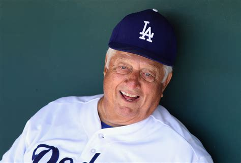 legendary dodgers manager tommy lasorda hospitalized  nyc  mild heart attack cbs news