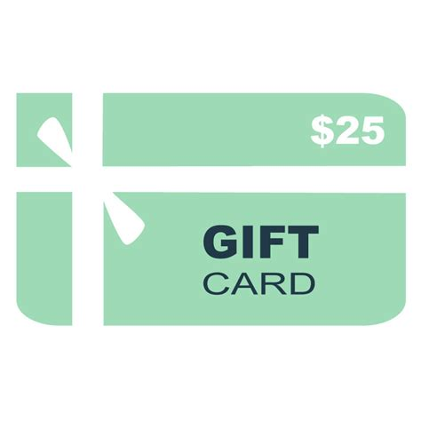 25 Gift Card - 25 gift card ec wear