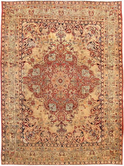 rug carpet difference kirman rugs antique kirman rugs vs kashan carpets