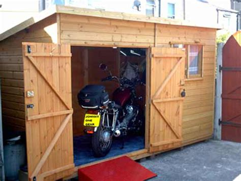 Motorcycle Shed Should You Build Or Buy Your New Motorcycle Shed