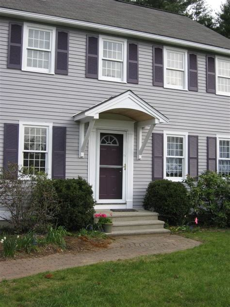 colonial house add roof  door google search