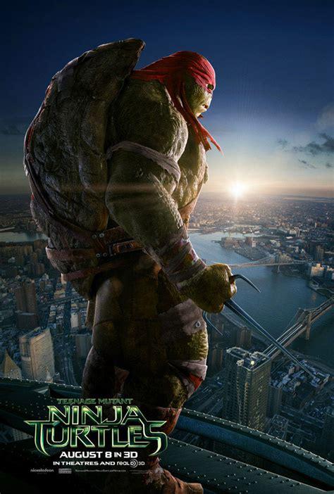 Tmnt 2014 Raphael new mutant turtles trailer reveals oroku saki reactor