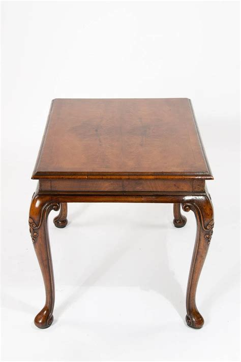 Antique Walnut Coffee Table Antique Walnut Coffee Table On Cabriole Legs At 1stdibs