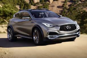 Infiniti Qx30 Infiniti Qx30 Concept Front Side View Around Curve Photo 26
