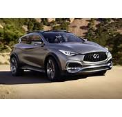 Infiniti Qx30 Concept Front Side View Around Curve Photo 26
