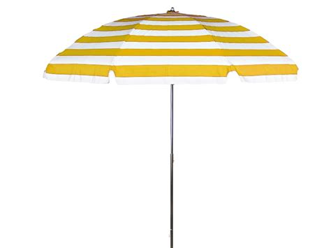 yellow patio umbrella 7 1 2 diameter patio yellow white stripe commercial