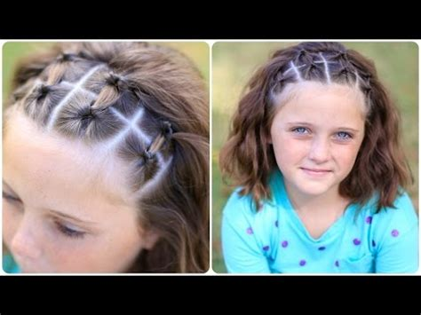 cute down hairstyles youtube how to create double flip accents easy hairstyles youtube