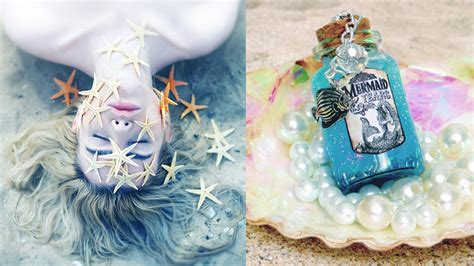 how to make decorations diy mermaid ideas for your room room decor for