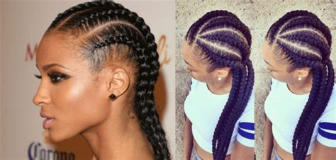 2017 latest braided hair style 4 exclusive black braiding styles to wear in 2017 within